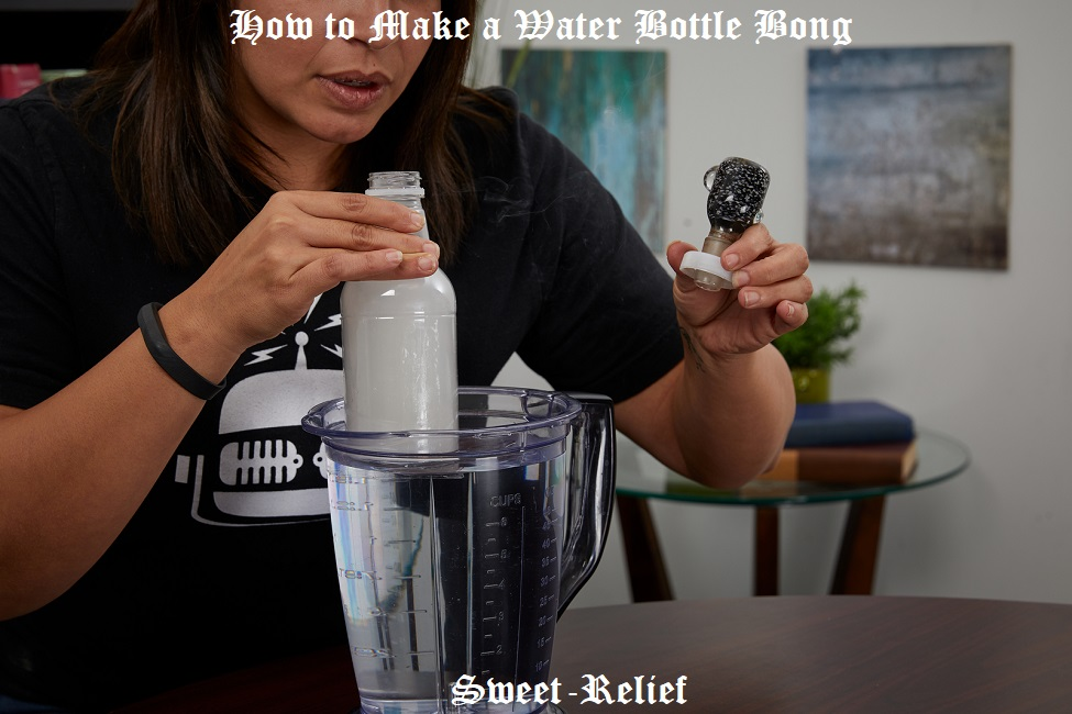 how to make a water bottle bong