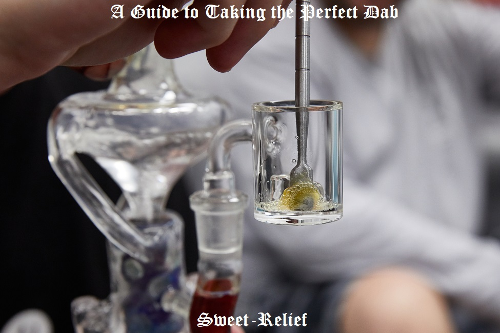 how to take a dab